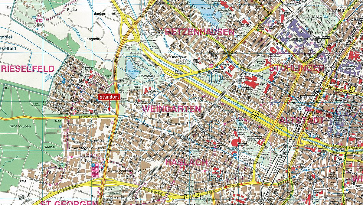 Freiburg Karte Stadtteile.Zwei Vorteile Ein Echtes Plus Siedlungswerk Stuttgart