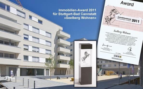 Der Immobilien-Award 2011 für unser Projekt in Stuttgart »Seelberg Wohnen«
